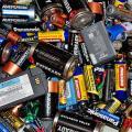 Descarte de pilhas usadas