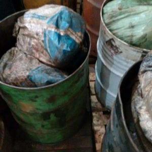 Destinação de resíduos classe 1