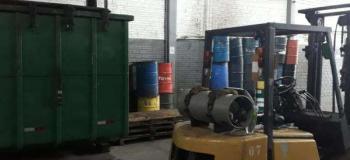 Coleta de resíduos contaminados