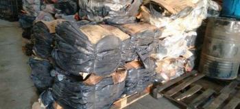 Coleta de resíduos têxteis